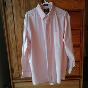 Stafford Wrinkle Free Button Down Dress Shirt🌲🎁
